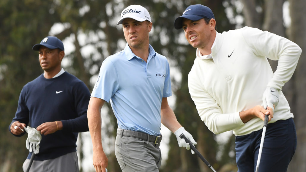 Tiger, Justin and Rory