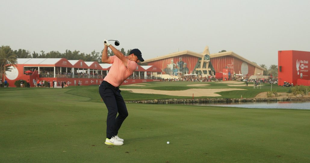 McIlroy hits front in Abu Dhabi