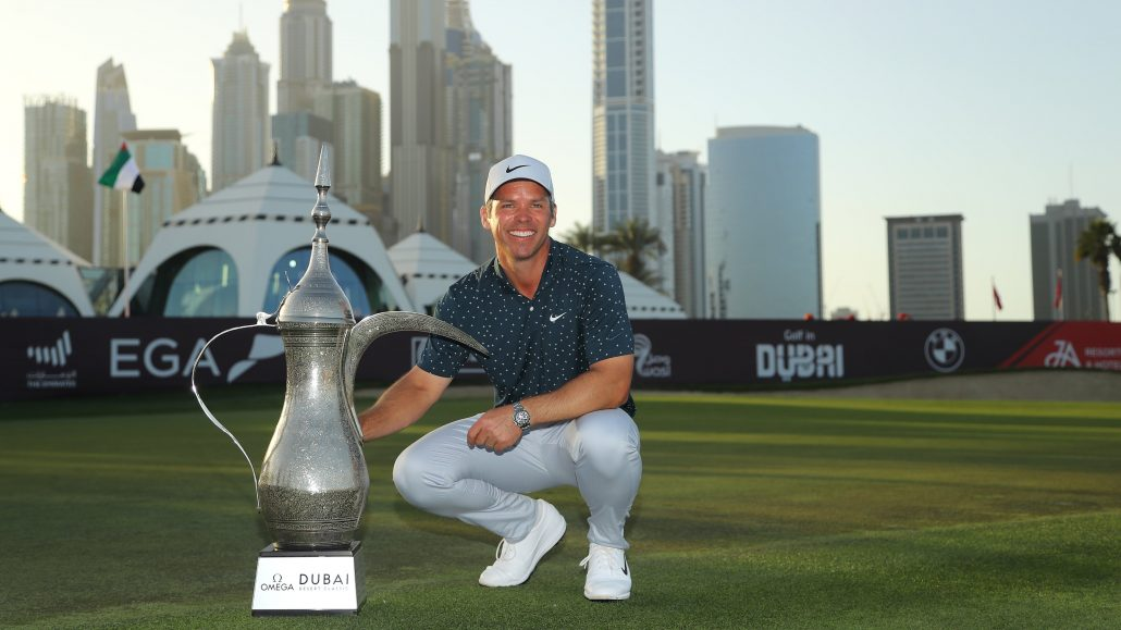Casey wins in Dubai, Stone secures second