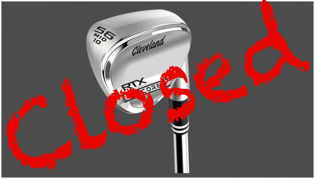 WIN: One of two Cleveland RTX Zipcore wedges