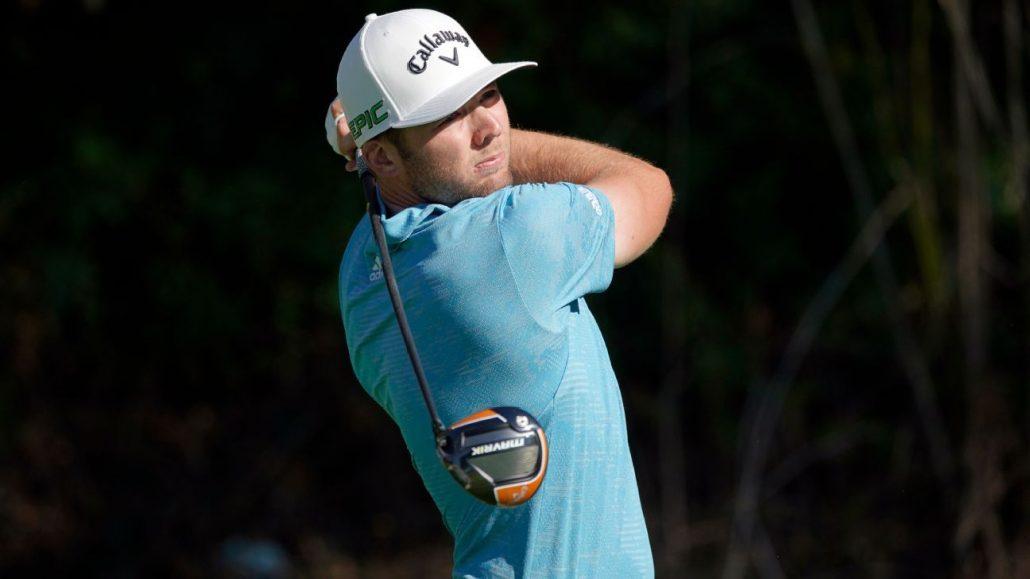 Sam Burns takes Riviera lead
