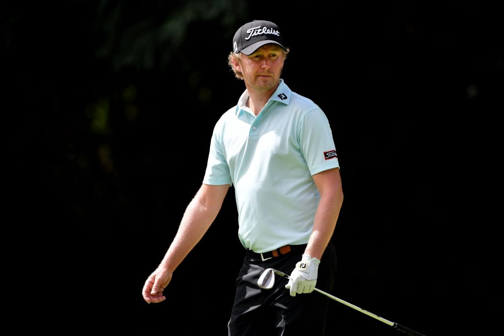 Harding in contention at Irish Open
