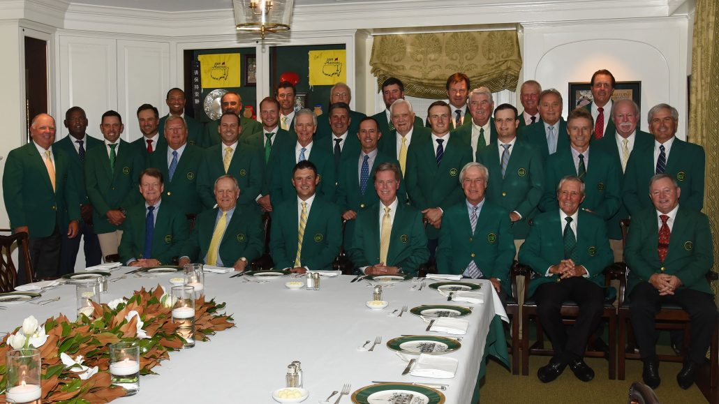 Masters 2021: Dinner for won