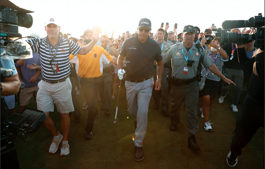 In Pictures: Mickelson triumphs in Kiawah Island