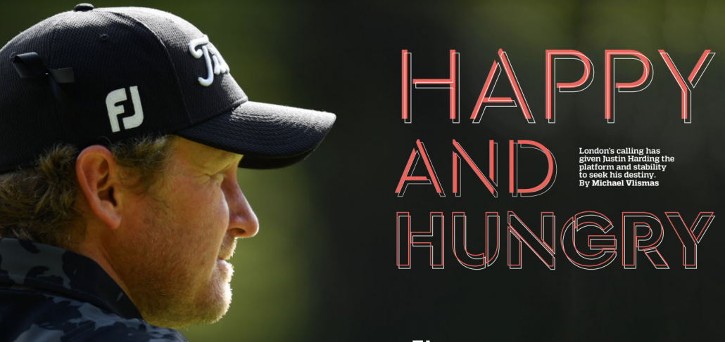 JUSTIN HARDING: Happy and Hungry