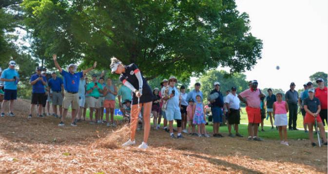 Korda fires 63 to grab Women's PGA Championship lead