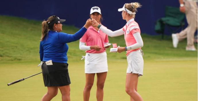 Salas, Nelly Korda share 54-hole lead at Women's PGA
