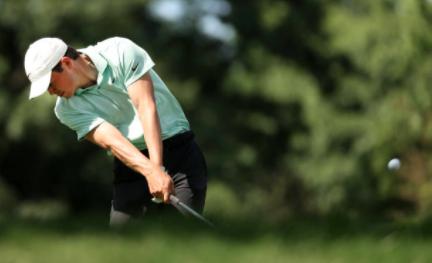 PGA rookie Thompson grabs 1st round lead in Detroit