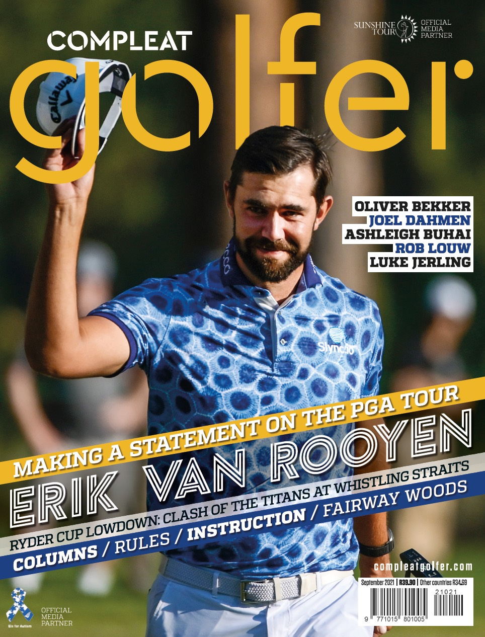 Compleat Golfer cover September 2021
