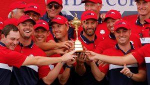 USA Ryder Cup celebrate