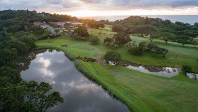 9th hole Southbroom Golf Club