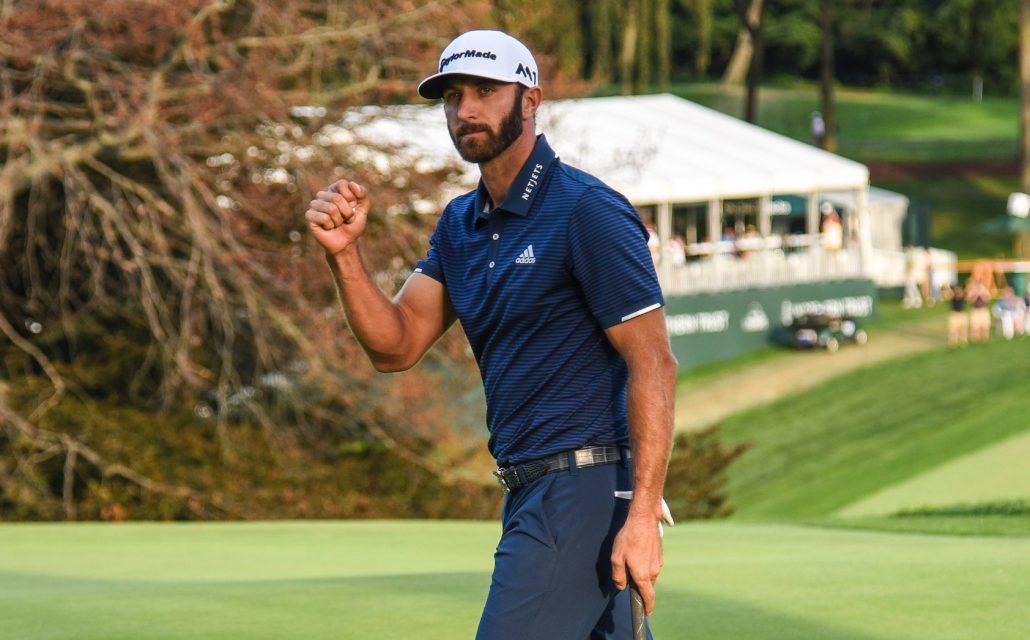 Dustin Johnson Keyur Khamar:PGA TOUR