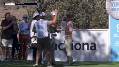Grant Forrest hole in one Spanish Open
