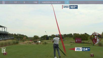 Hayden Buckley hole-in-one