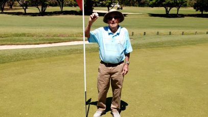 Hugh Brown hole-in-one 99 years old